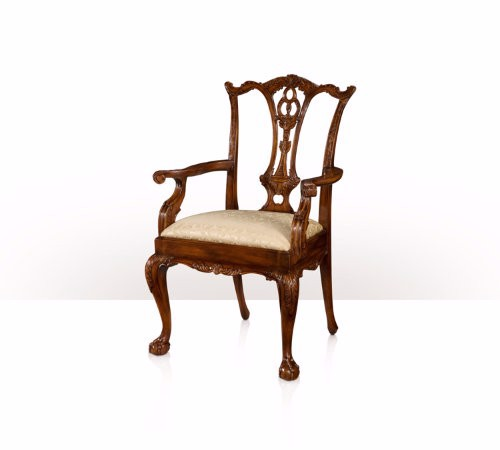 4100-519 Chair - Classic Claw and Ball Armchair