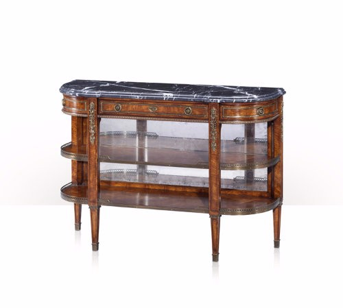 5300-136 Table - Bàn Victorian Break Bowfront