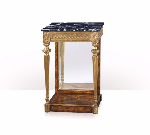 5302-077 Table - Bàn A cerejeira, gilt and marble top pier table