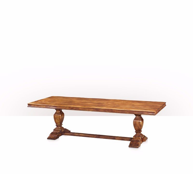 5400-070 Table - Bàn A large antiqued refectory table