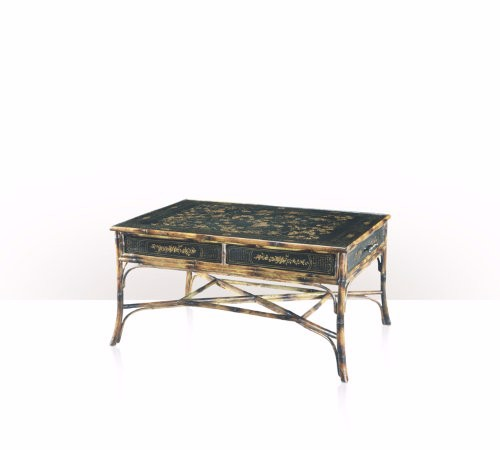 5108-001 Table - Bàn A Chinoiserie bamboo and black lacquer cocktail table