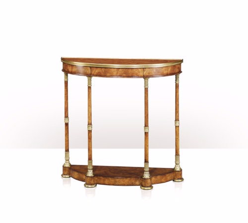 5305-154 Table - Bàn A light cerejeira bowfront console table