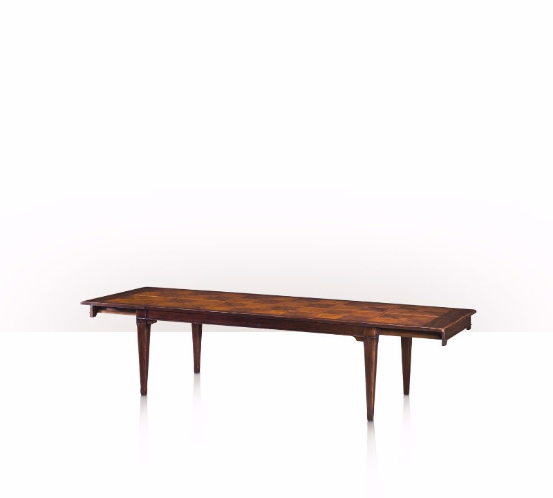 5400-134 Table - Bàn A Rustic Pull-Out Table