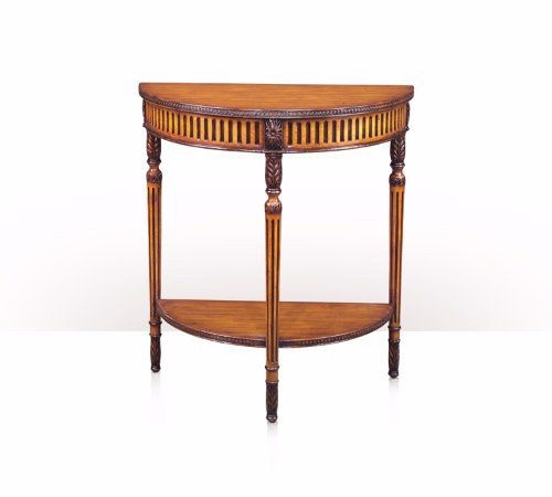 5300-109 Table - Bàn A hand carved pine console table