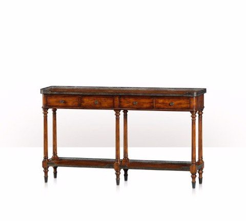 5305-166 Table - Bàn A hickory console table