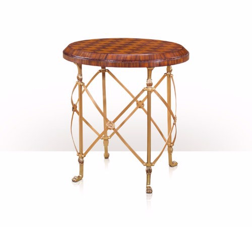 5021-203 Table - Bàn A cherry and rosewood parquetry lamp table