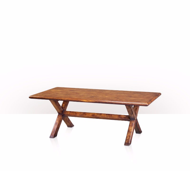 5400-101 Table - Bàn A solid babool refectory table