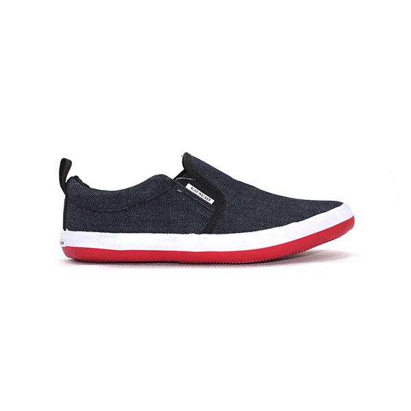 Giày Alan Walker Slip On Platform Jean Đen