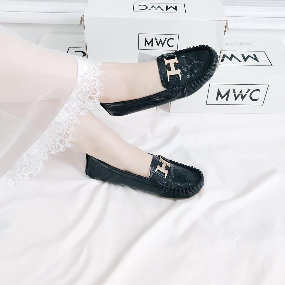 Giày búp bê MWC NUBB- 2082 - ĐEN