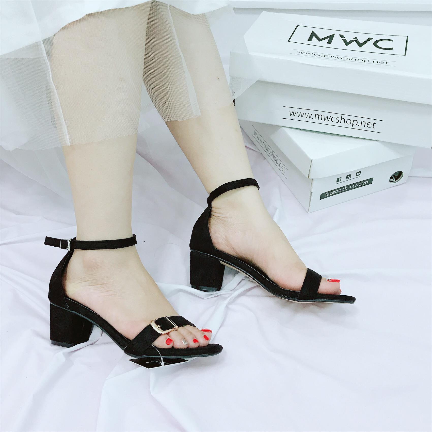 Giày cao gót MWC NUCG- 3663 - ĐEN