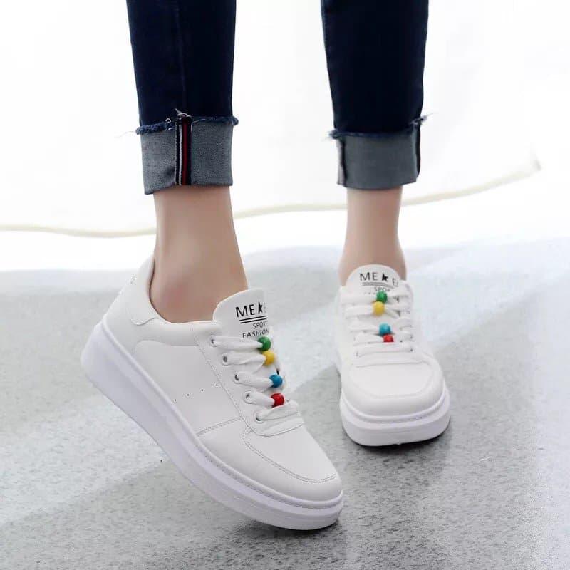 Giày thể thao nữ MWC NUTT- 0179 - TRẮNG