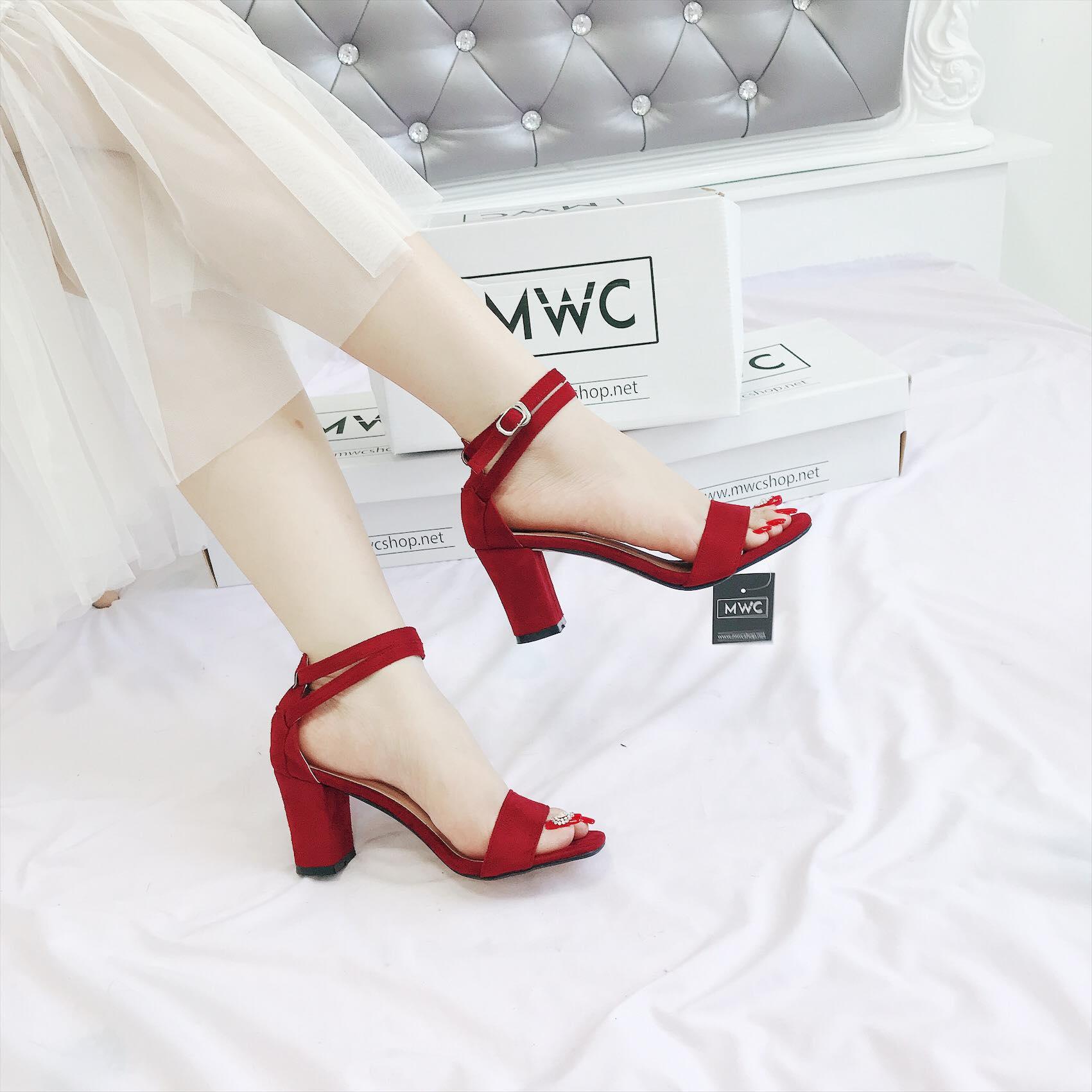 Giày cao gót MWC NUCG- 3669 - ĐỎ