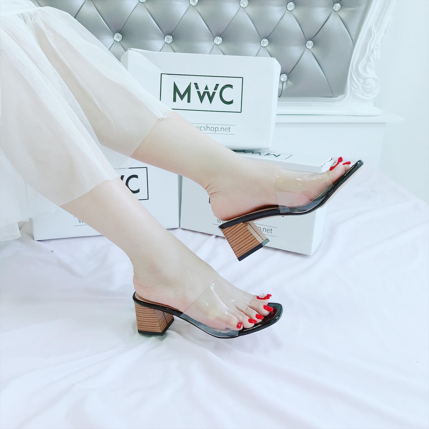 Giày cao gót MWC NUCG- 3678 - ĐEN