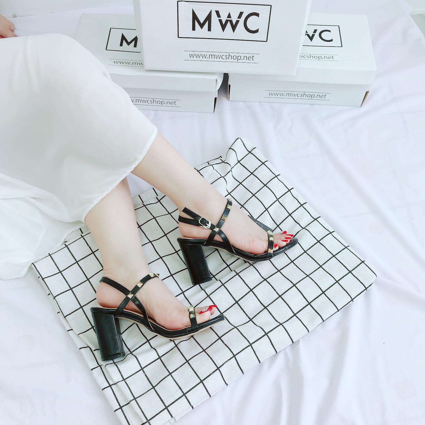 Giày cao gót MWC NUCG- 3674 - ĐEN