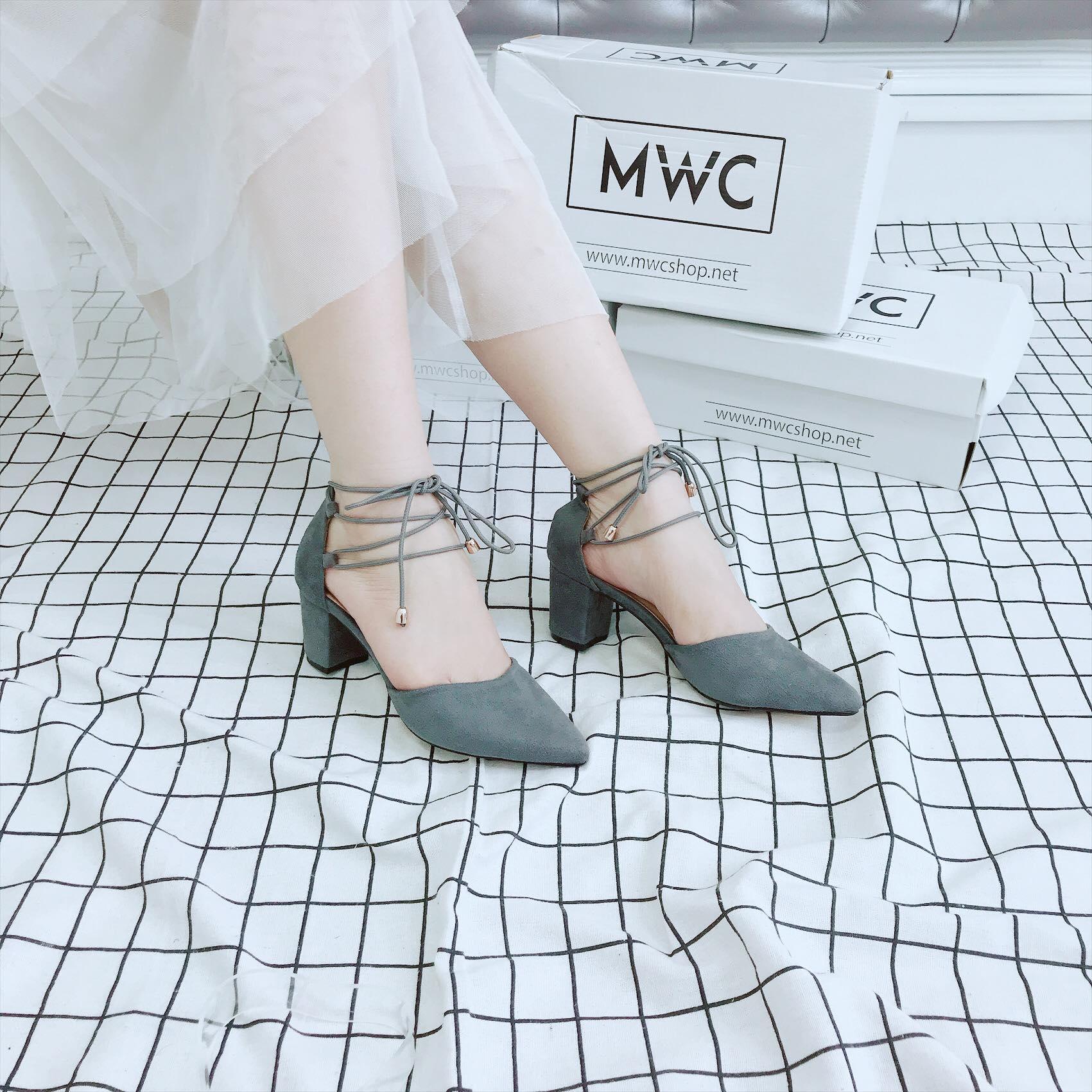 Giày cao gót MWC NUCG- 3682 - XÁM