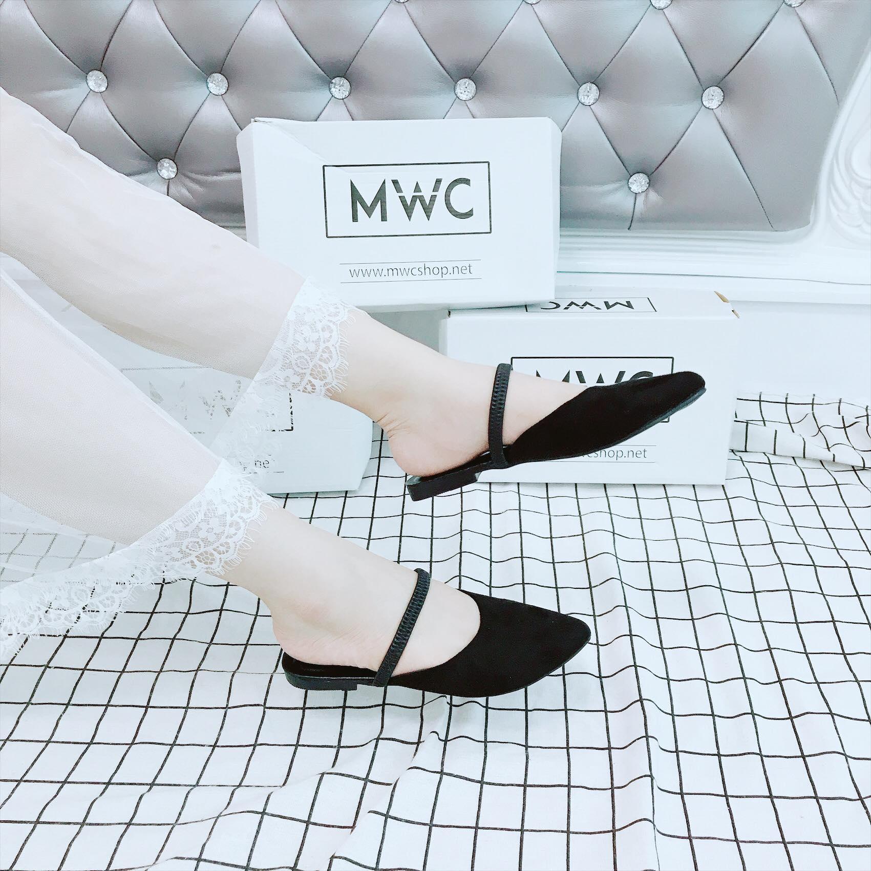 Dép nữ MWC NUDE- 3094 - ĐEN