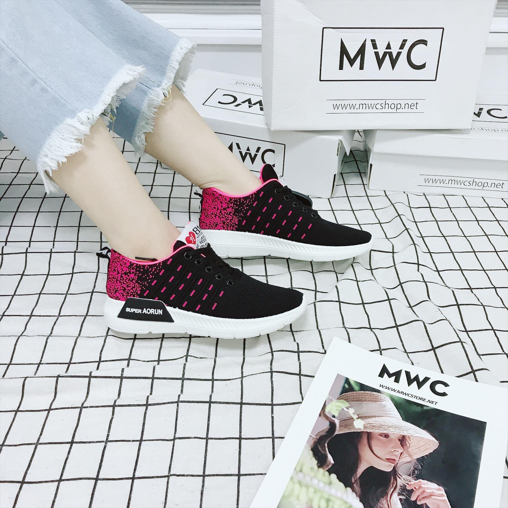 Giày thể thao nữ MWC NUTT- 0190 - ĐEN