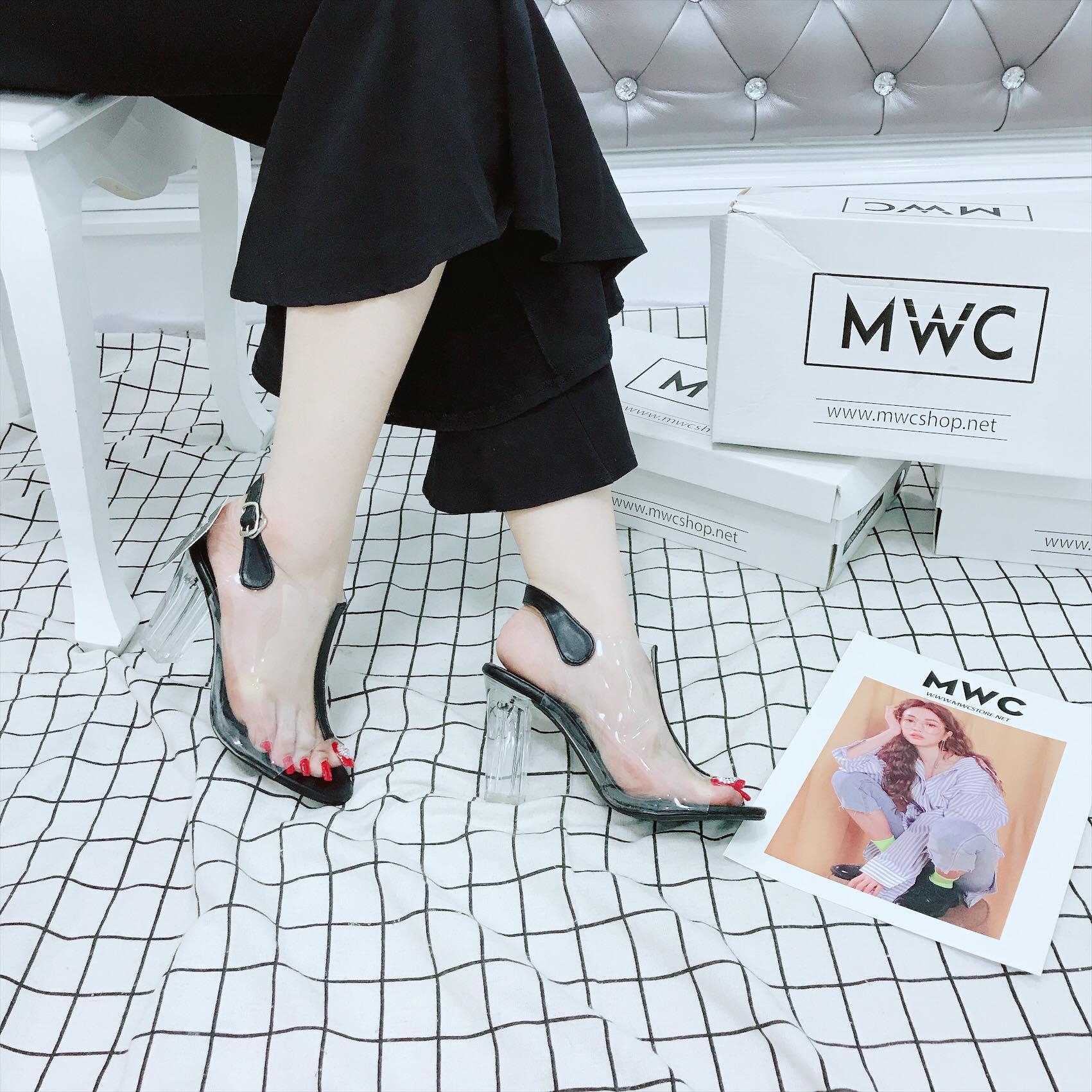 Giày cao gót MWC NUCG- 3689 - ĐEN