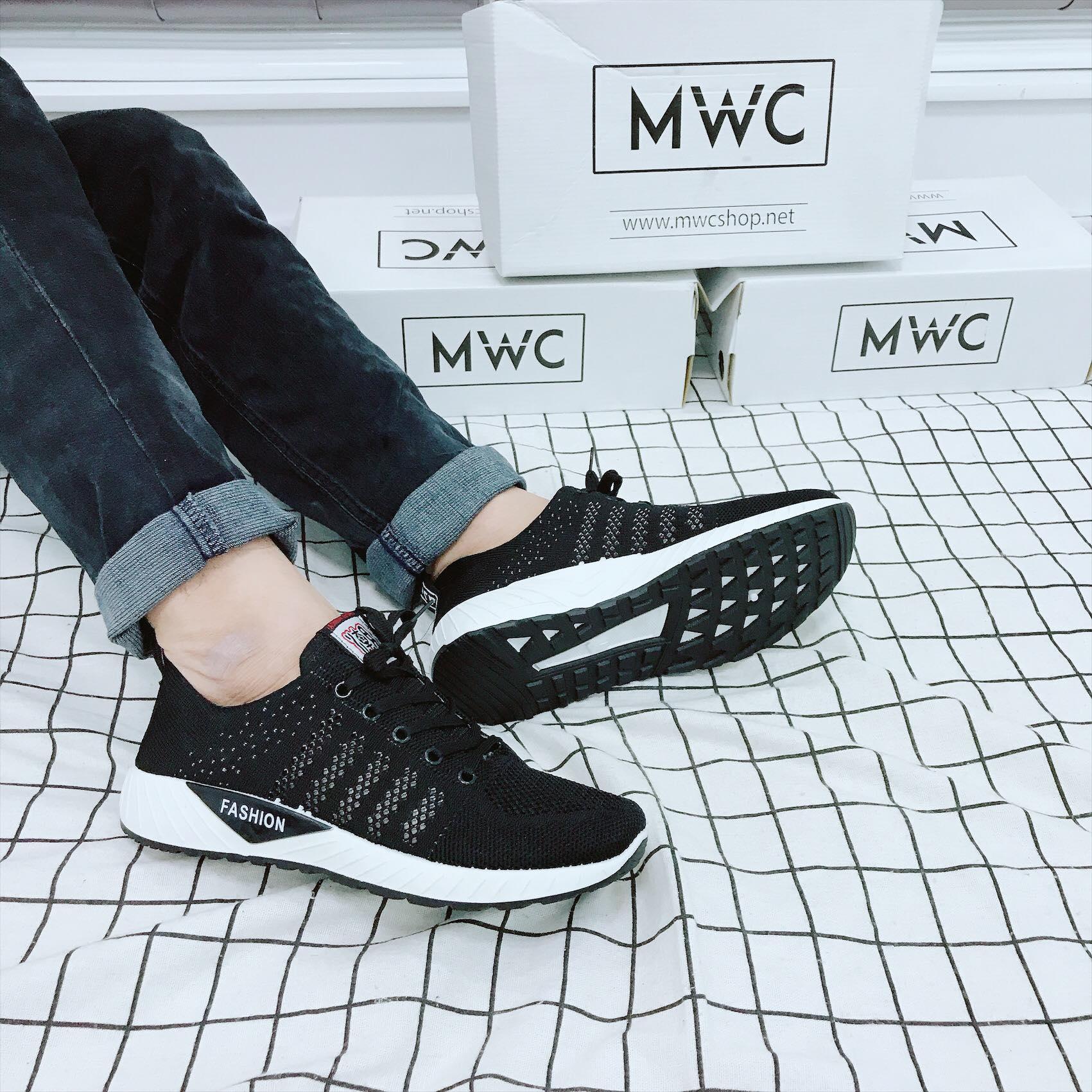 Giày thể thao nam MWC NATT- 5106 - ĐEN