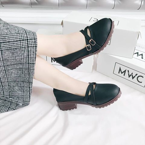 Giày Oxford MWC NUOX- 4508 - ĐEN