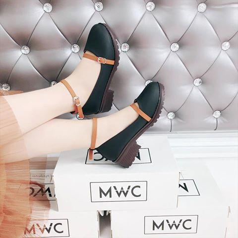 Giày Oxford MWC NUOX- 4507 - ĐEN