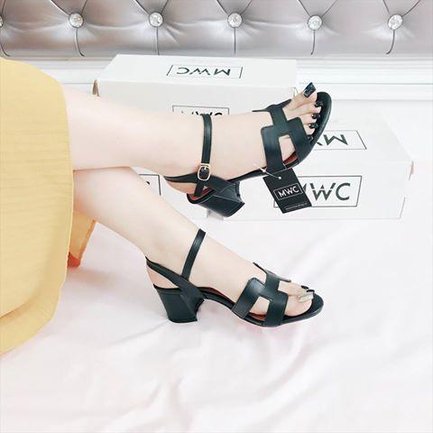 Giày cao gót MWC NUCG- 3580 - ĐEN