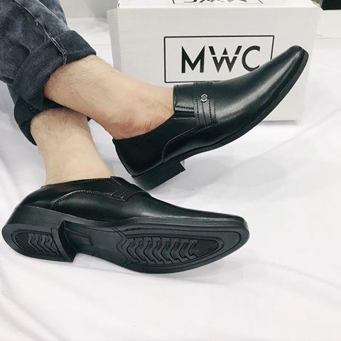 Giày mọi nam MWC NAMO- 6550 - ĐEN