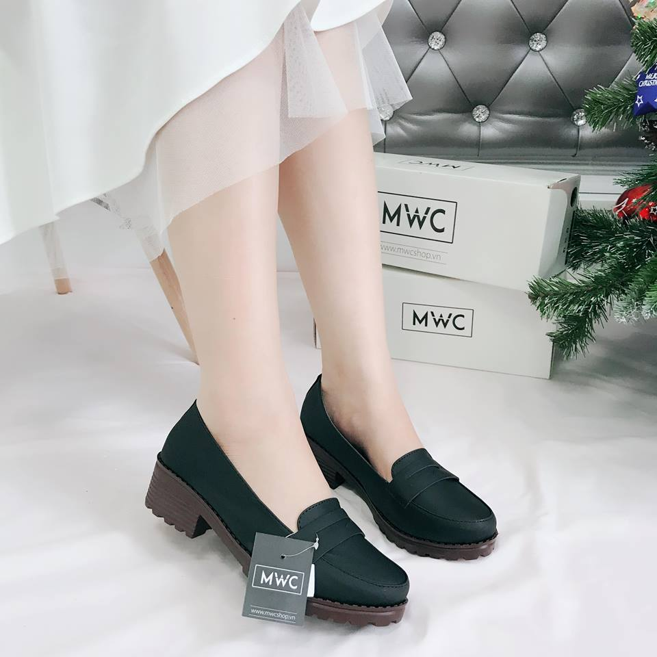 Giày Oxford MWC NUOX- 4516 - ĐEN