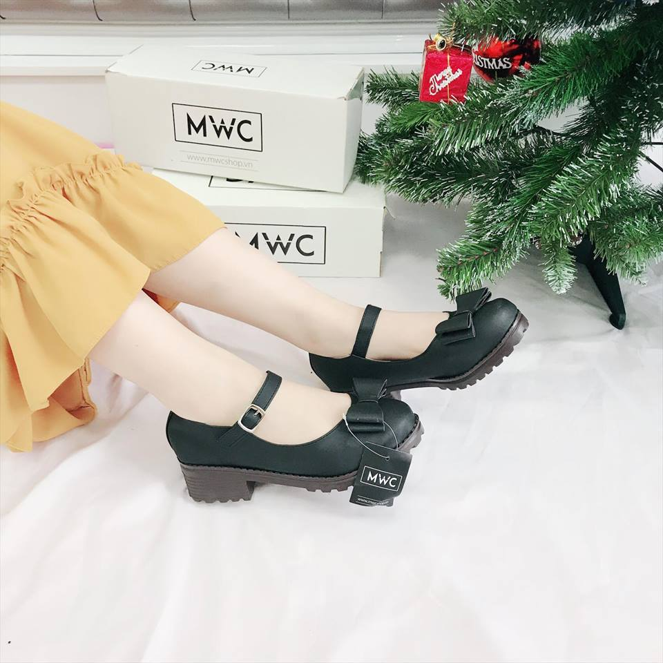 Giày Oxford MWC NUOX- 4518 - ĐEN