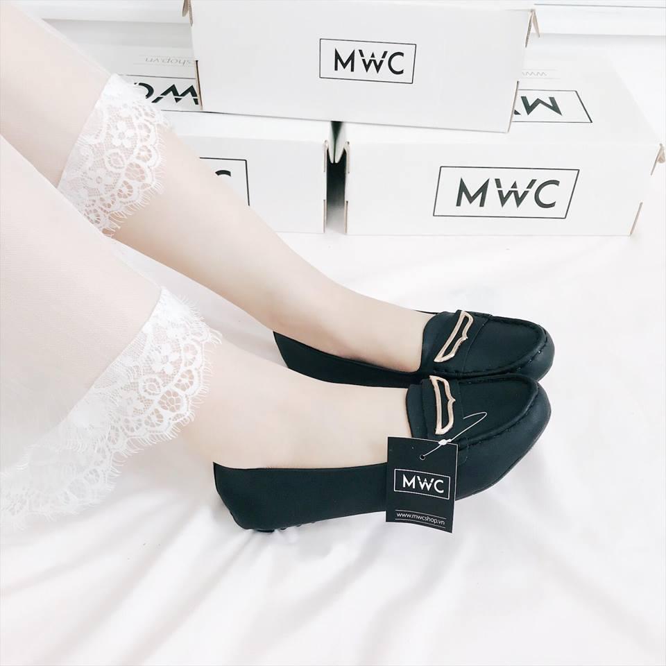 Giày búp bê MWC NUBB- 2080 - XANHĐ