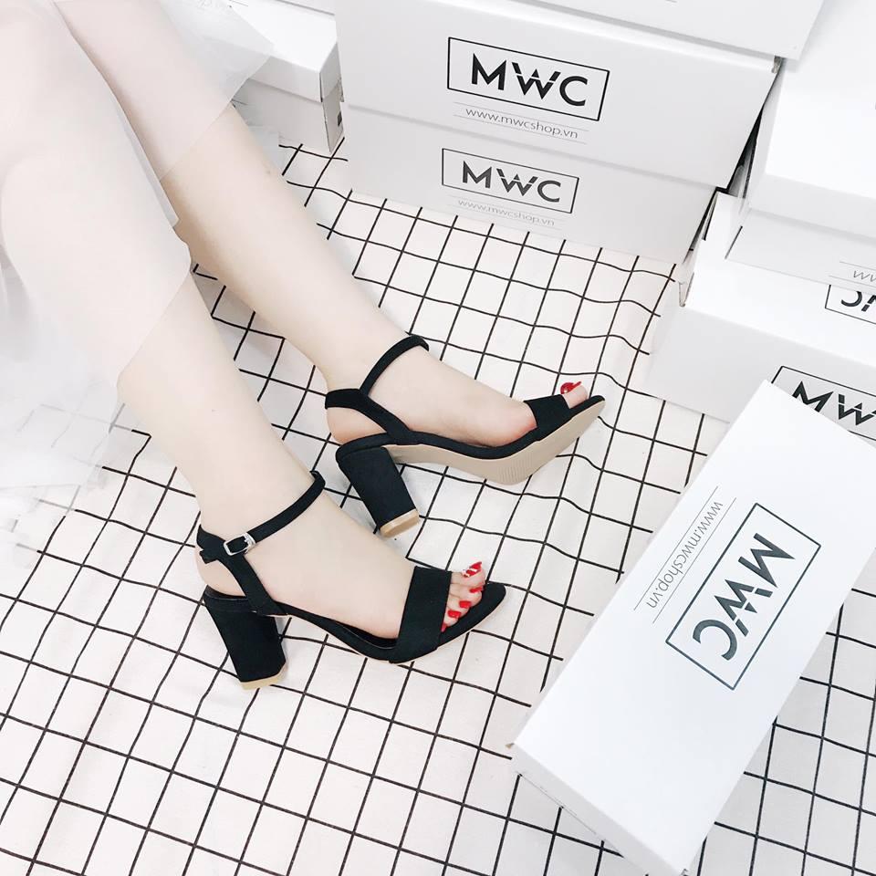 Giày cao gót MWC NUCG- 3505 - Đen