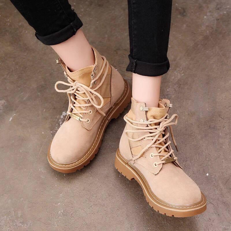 Giày boot nữ NUBO MWC- 4017 - NÂU