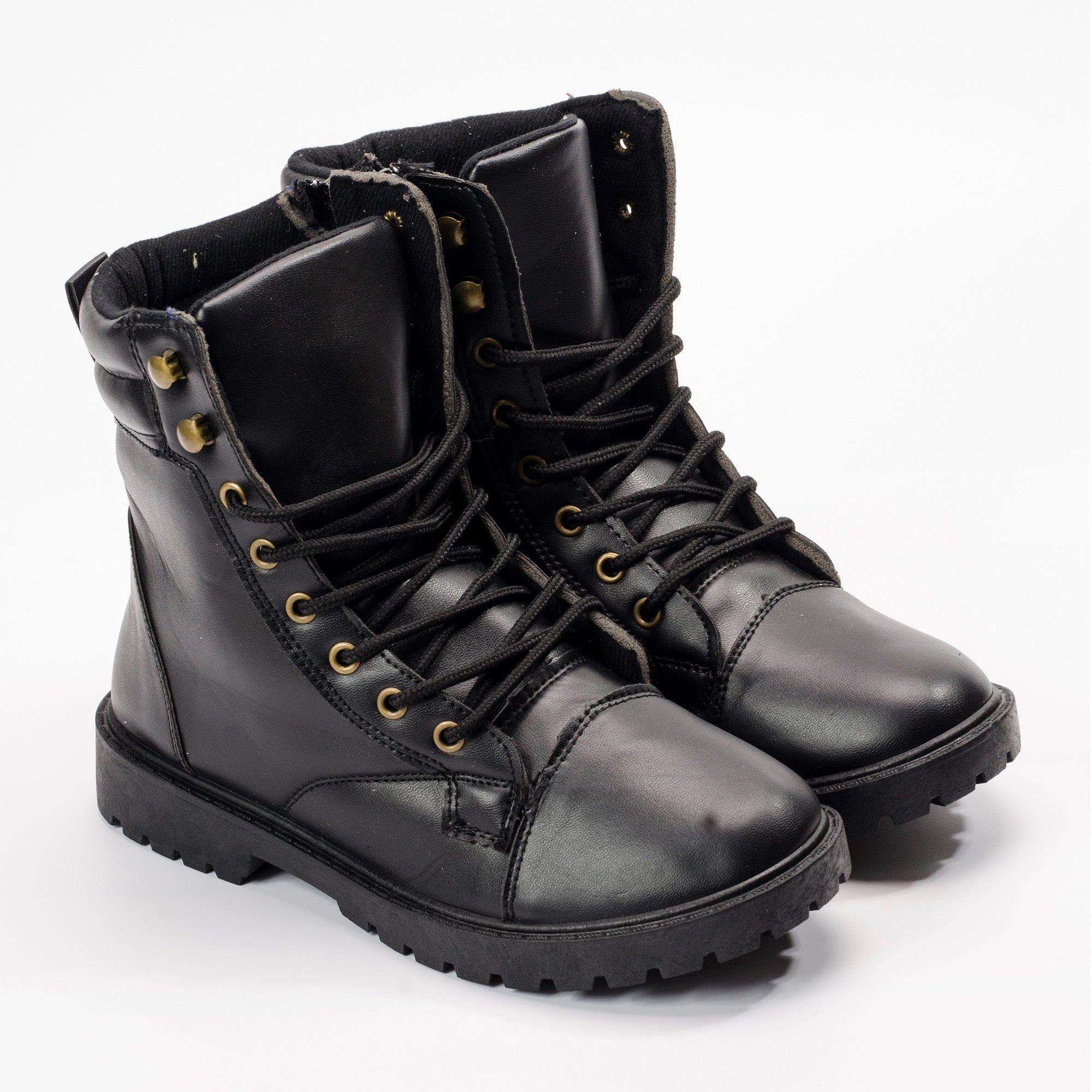 Giày boot nam MWC NABO- 8010 - ĐEN