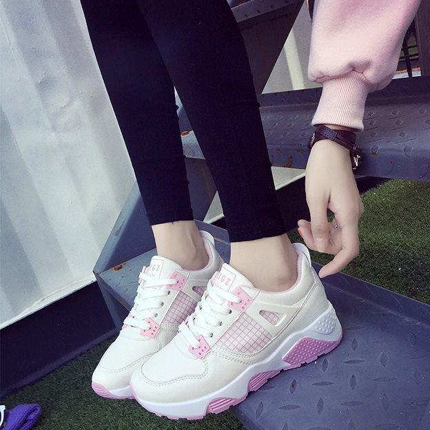 .Giày thể thao nữ MWC NUTT- 0024 - HỒNG
