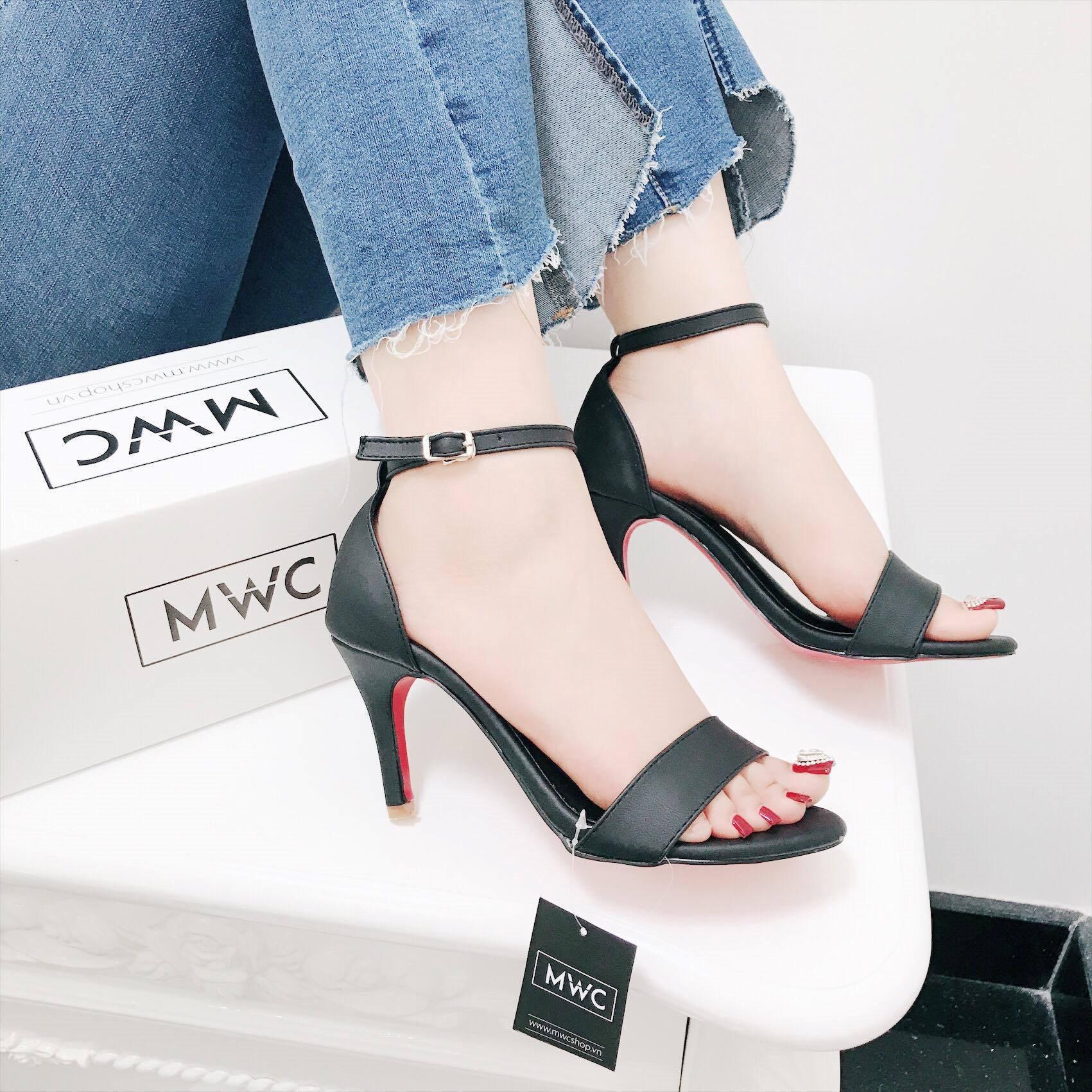 Giày cao gót MWC NUCG- 3552 - ĐEN