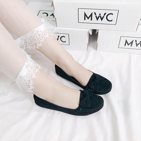 Giày búp bê MWC NUBB- 2062 - ĐEN