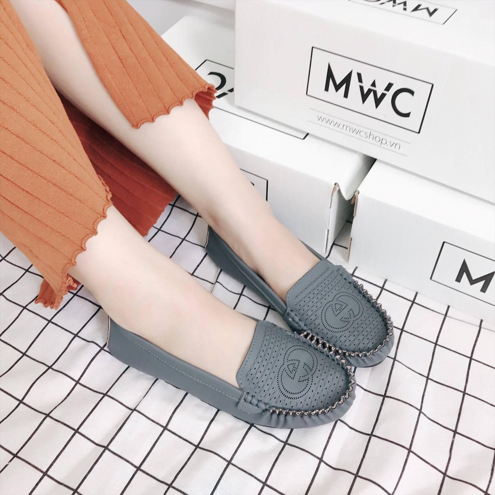 Giày búp bê MWC NUBB- 2052 - XÁM