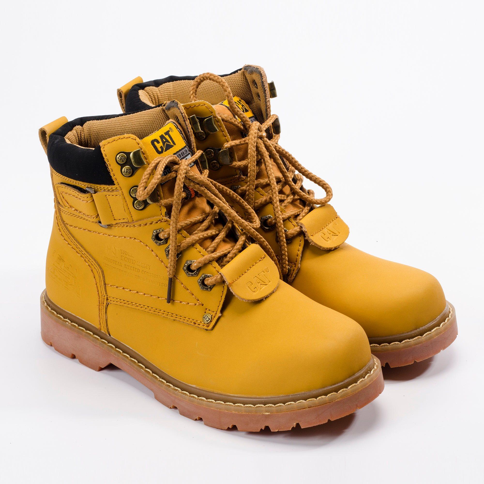 Giày boot nam MWC NABO- 8002 - VÀNG