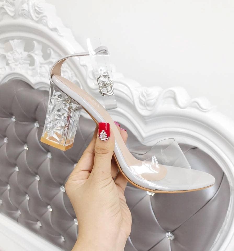 Giày cao gót MWC NUCG- 3518 - XÁM