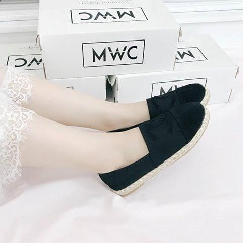 Giày búp bê MWC NUBB- 2068 - ĐEN