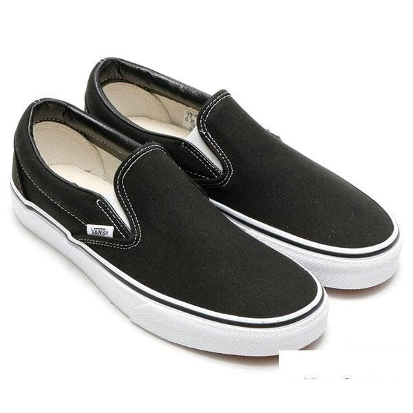 Giày Slipon nữ MWC NUSL- 1503 - ĐEN