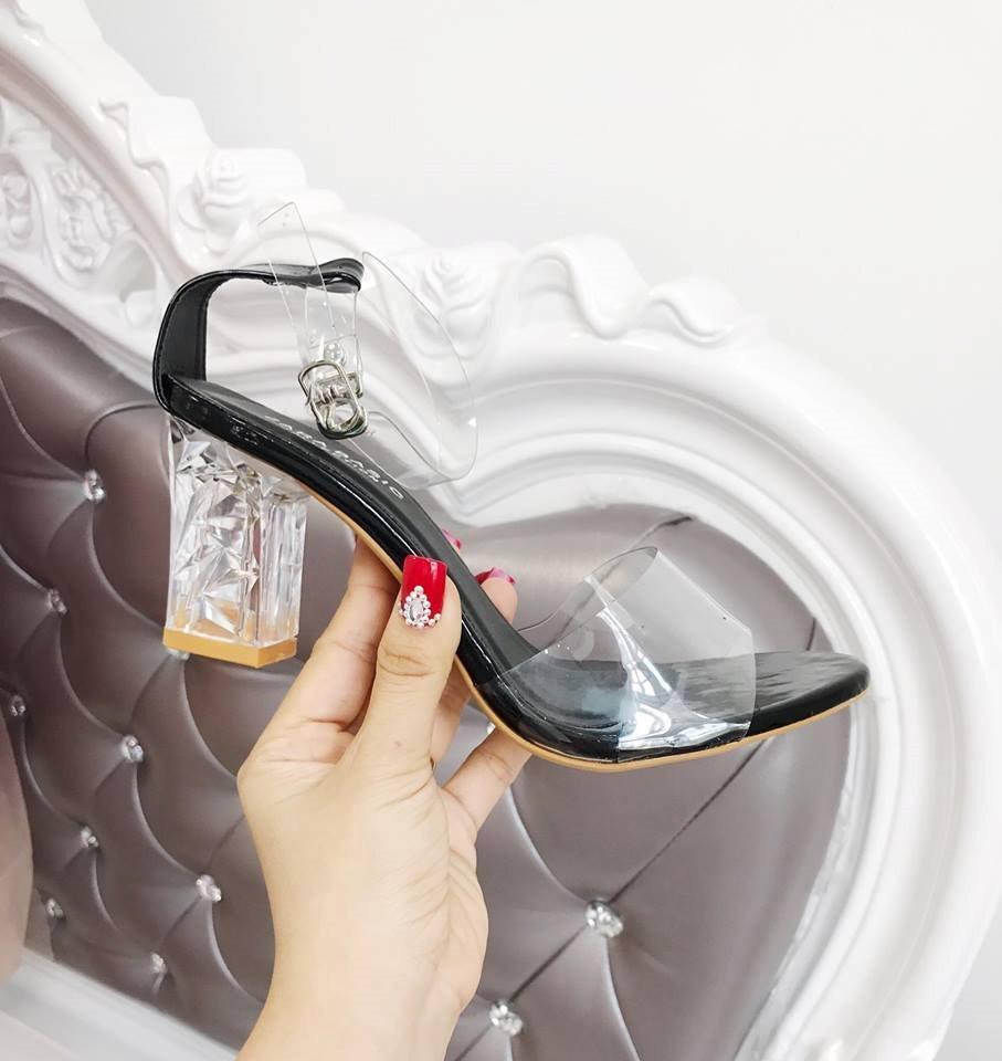Giày cao gót MWC NUCG- 3518 - ĐEN