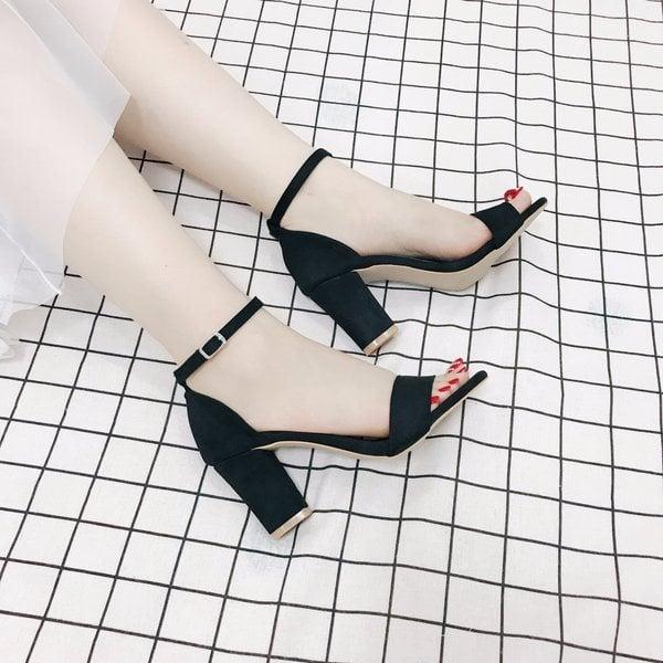 Giày cao gót MWC NUCG- 3502 - ĐEN