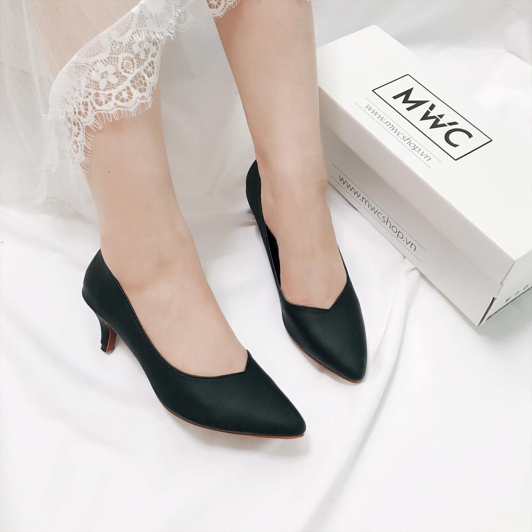 Giày cao gót MWC NUCG- 3551 - ĐEN