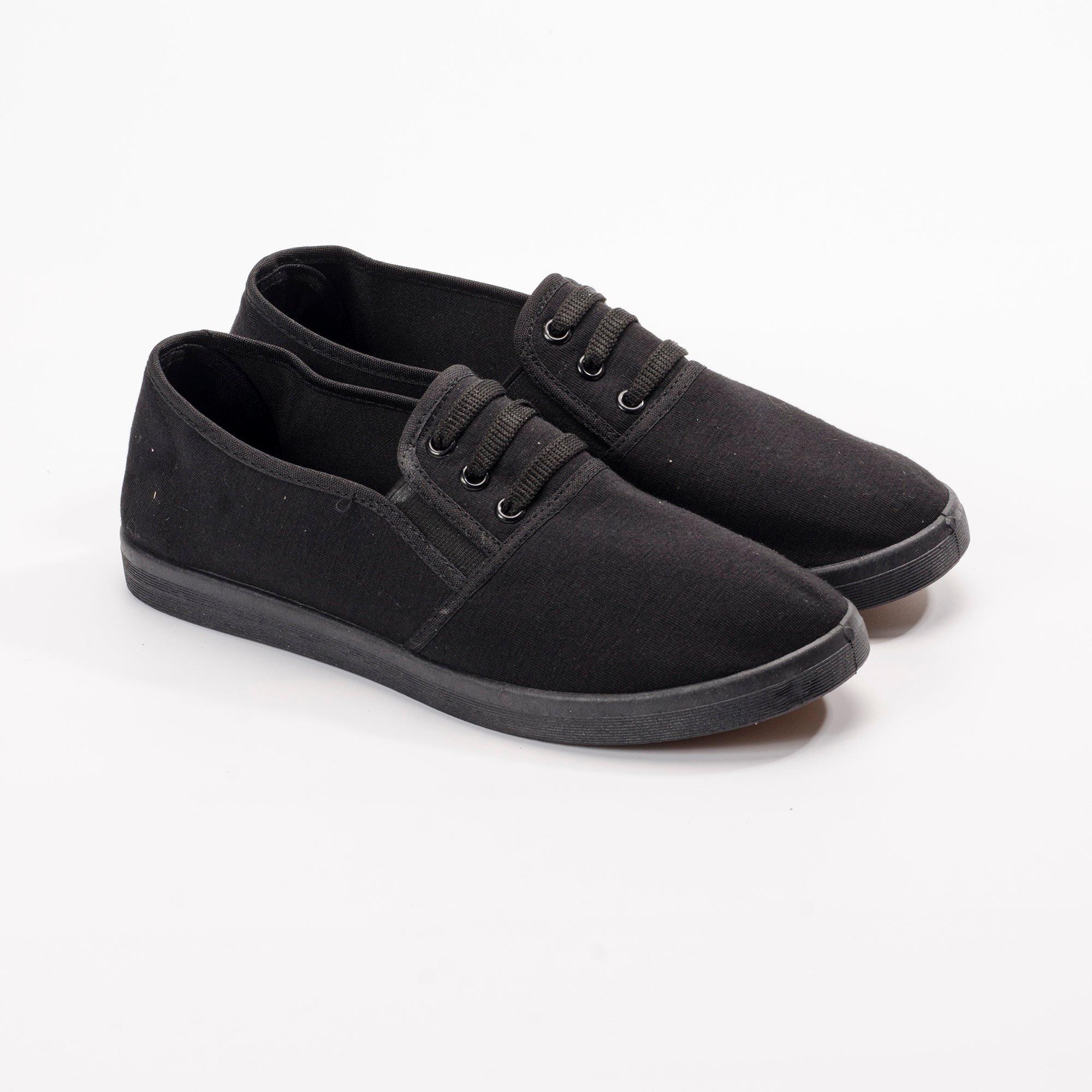 Giày Slipon nữ  MWC NUSL- 1511 - ĐEN