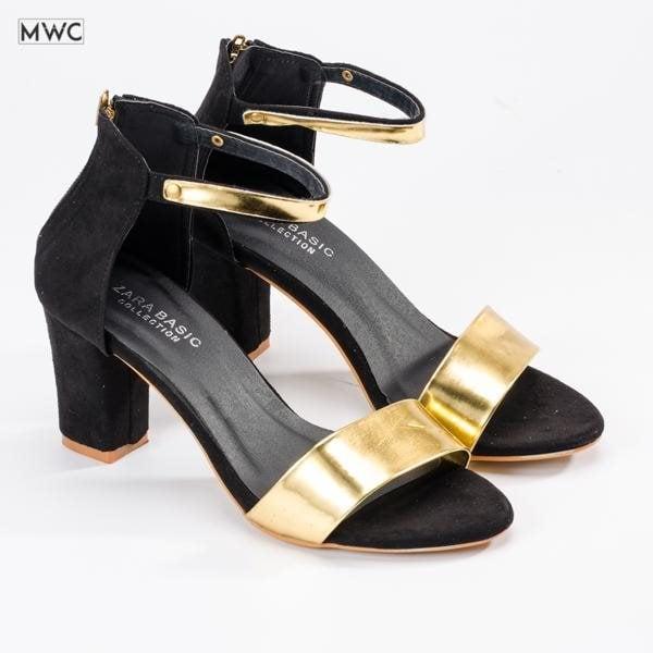 Giày cao gót MWC NUCG- 3517 - VÀNG