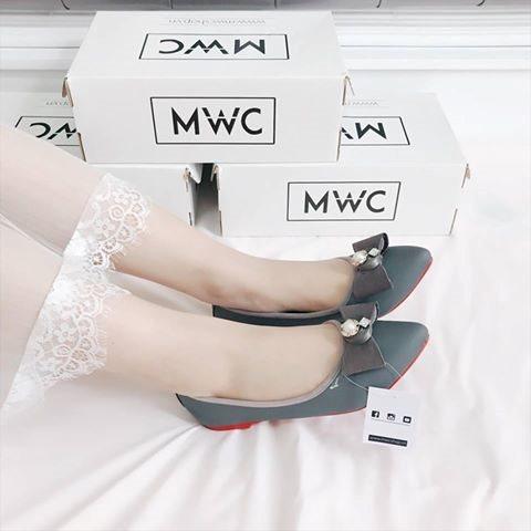 Giày búp bê MWC NUBB- 2060 - XÁM