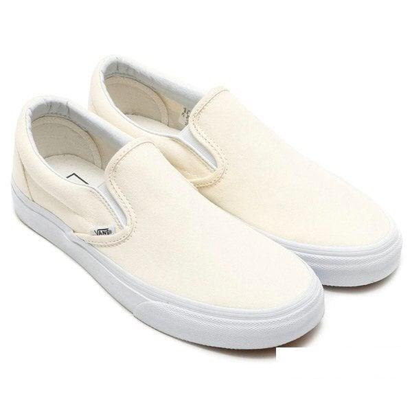 Giày Slipon nữ MWC NUSL- 1503 - TRẮNG