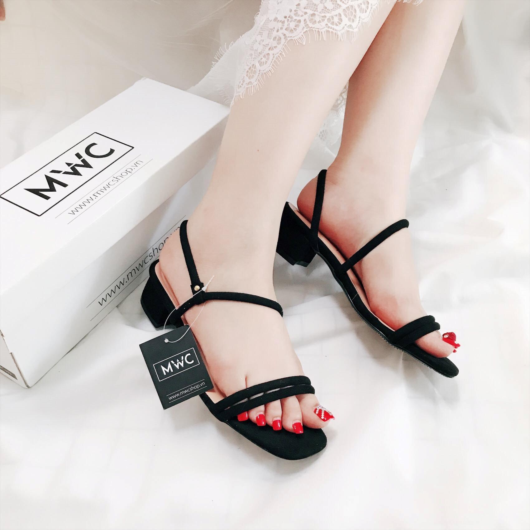 Giày cao gót MWC NUCG- 3541 - ĐEN