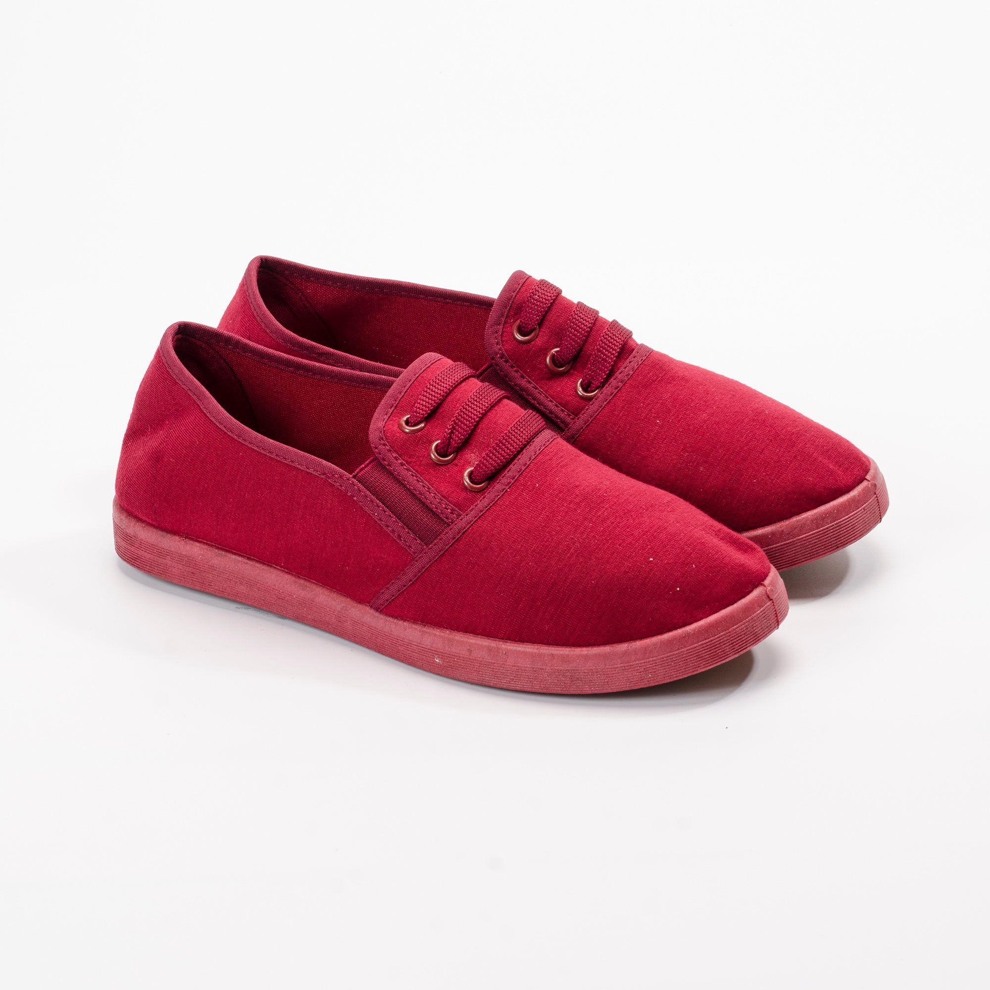 Giày Slipon nữ  MWC NUSL- 1511 - ĐỎ